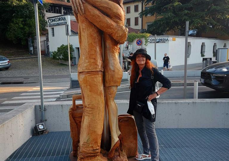Karin Ortner in Udine-1