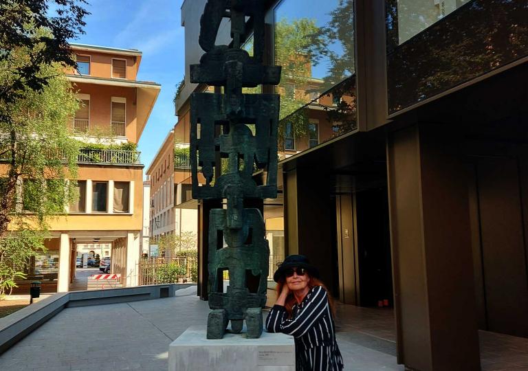 Karin Ortner in Udine-2