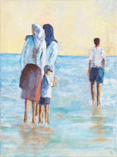 "Karbassioun Michèlle, ""On the beach"""